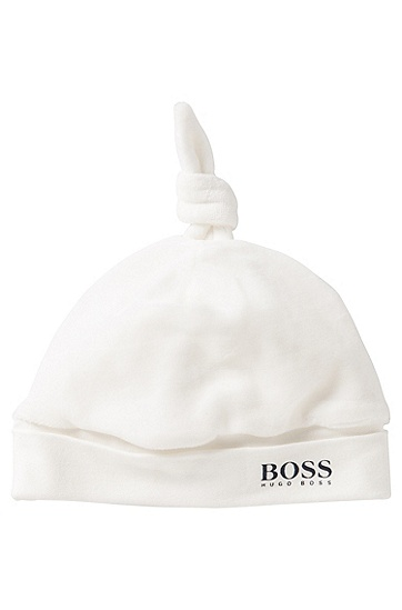 Mütze aus Baumwoll-Mix: 'J91053', Natur