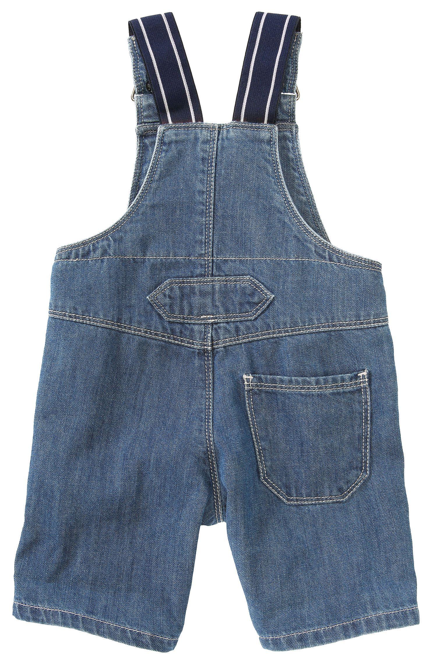 Salopette courte pour enfant «J94083» en coton