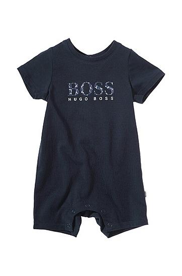 Baby-Body ´J94105` aus Baumwolle, Dunkelblau