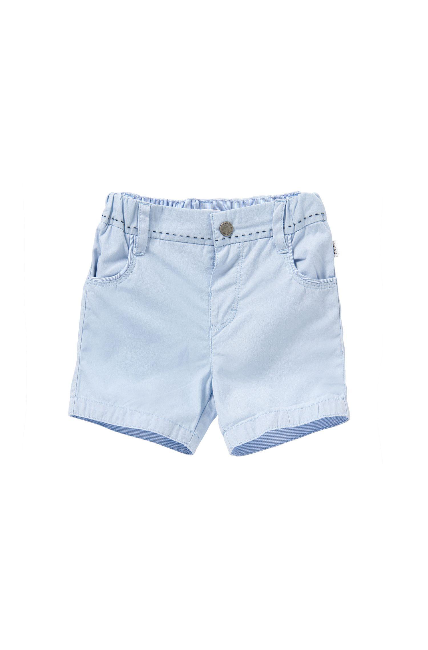 Baby-Shorts aus Baumwolle mit Streifen-Details: 'J94154'