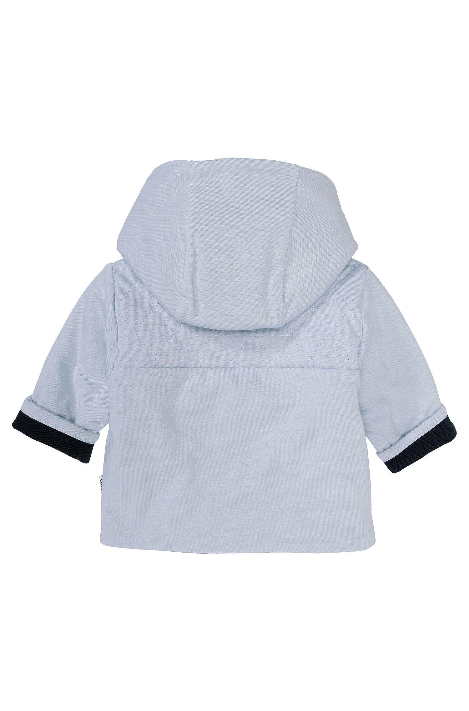 Kids-Kapuzen-Jacke ´J95141` aus Baumwolle