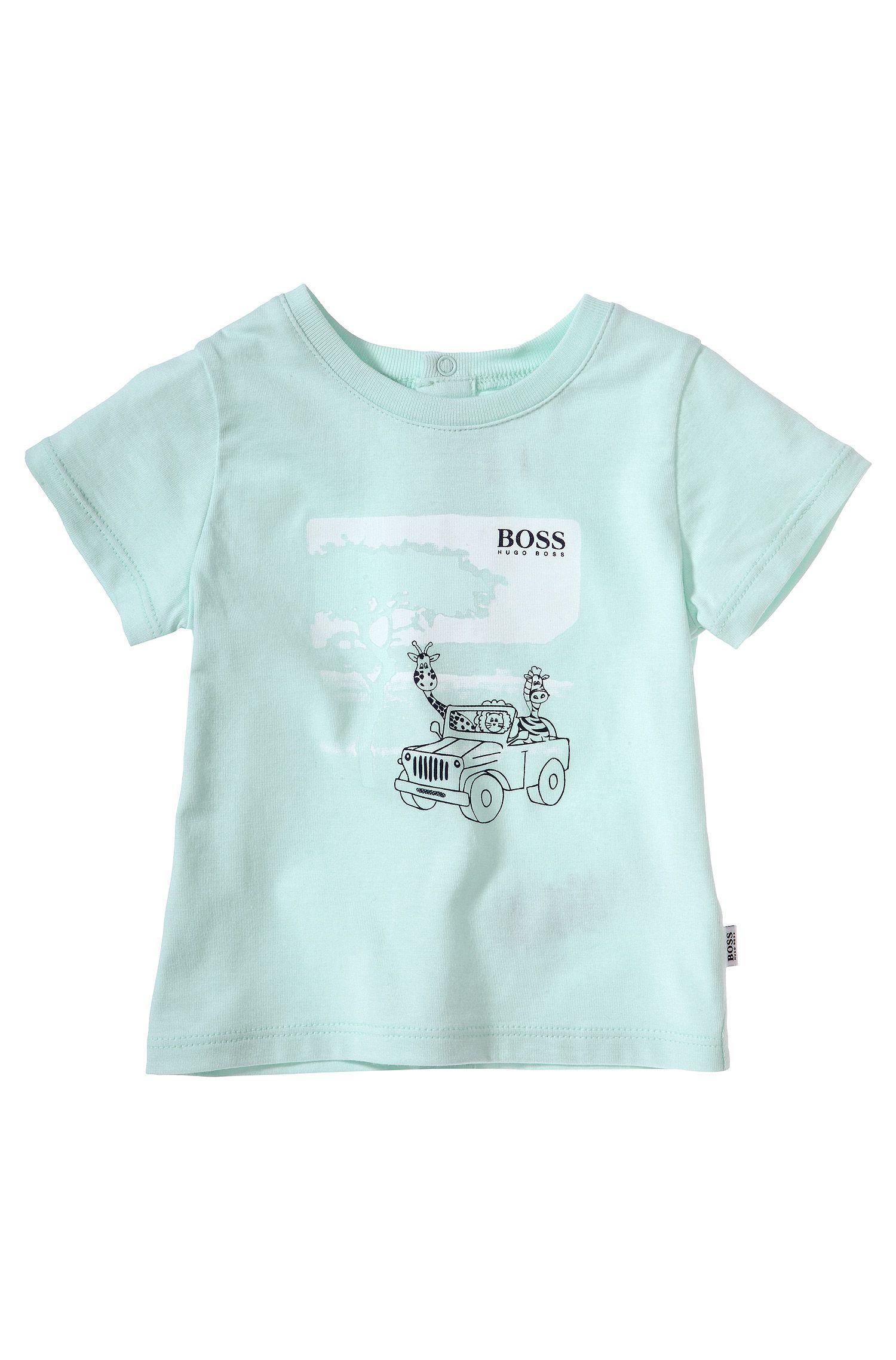 Kinder-T-shirt 'J95145' van katoen