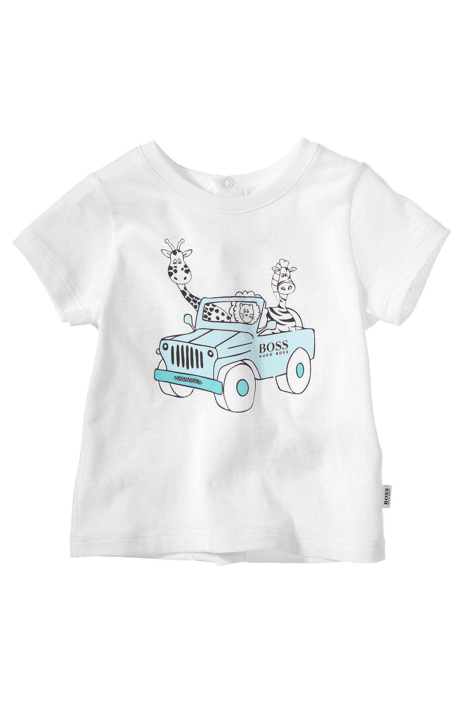 T-shirt pour enfants «J95146» en coton