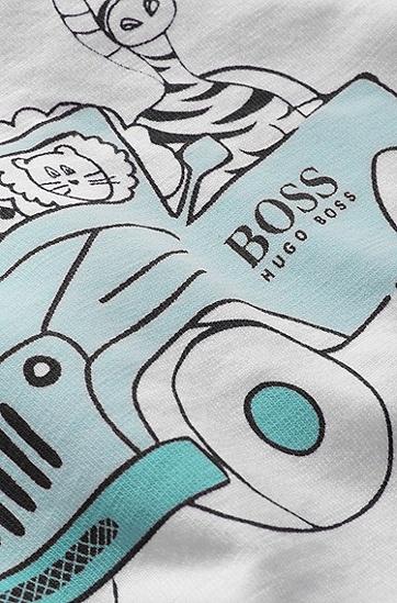 Kids-T-Shirt ´J95146` aus Baumwolle, Weiß