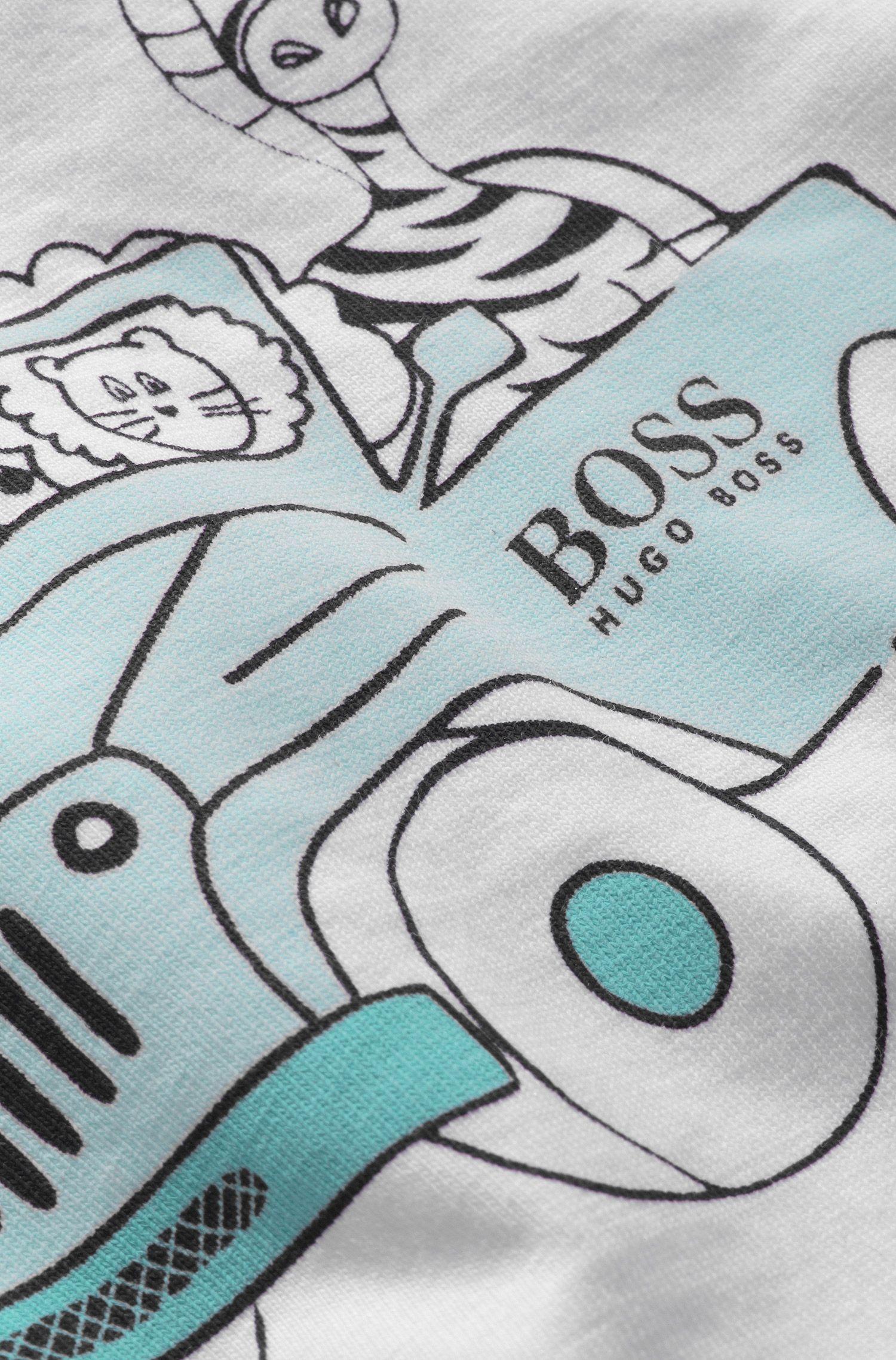 Kinder-T-shirt 'J95146' van katoen
