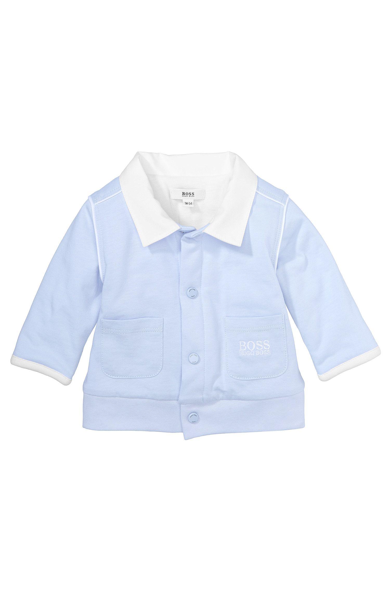 Kids-Sweatshirt-Jacke ´J95148` aus Baumwolle