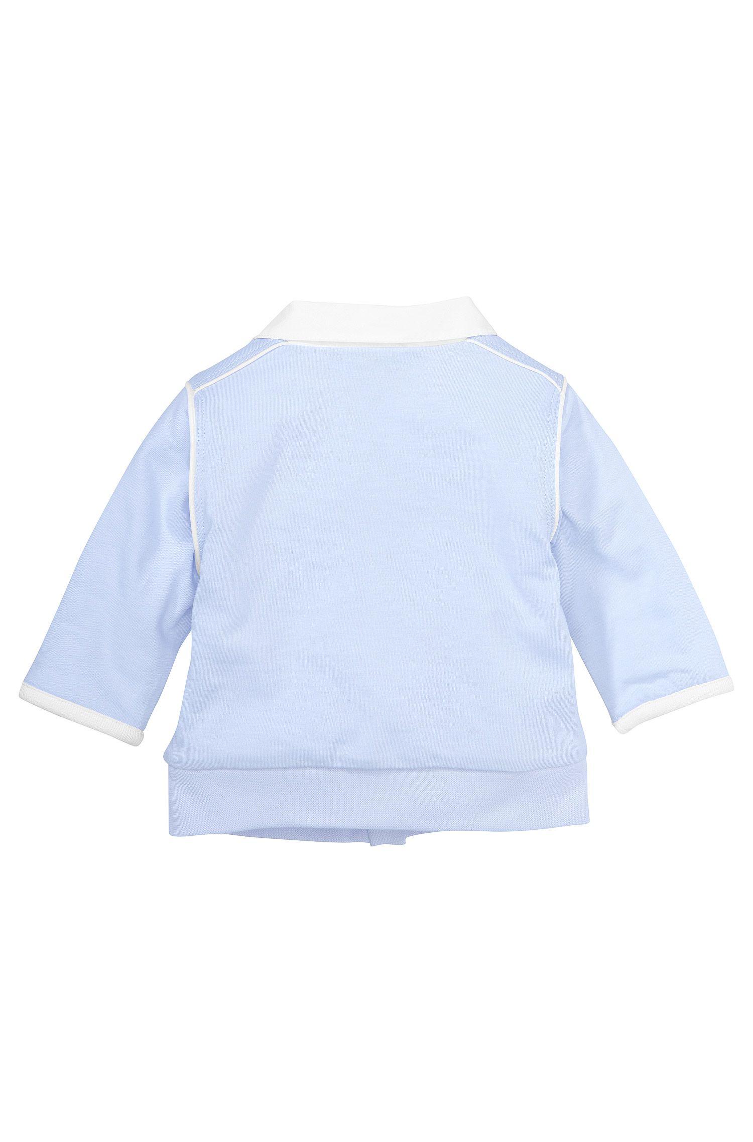 Kindersweatshirtjas 'J95148' van katoen