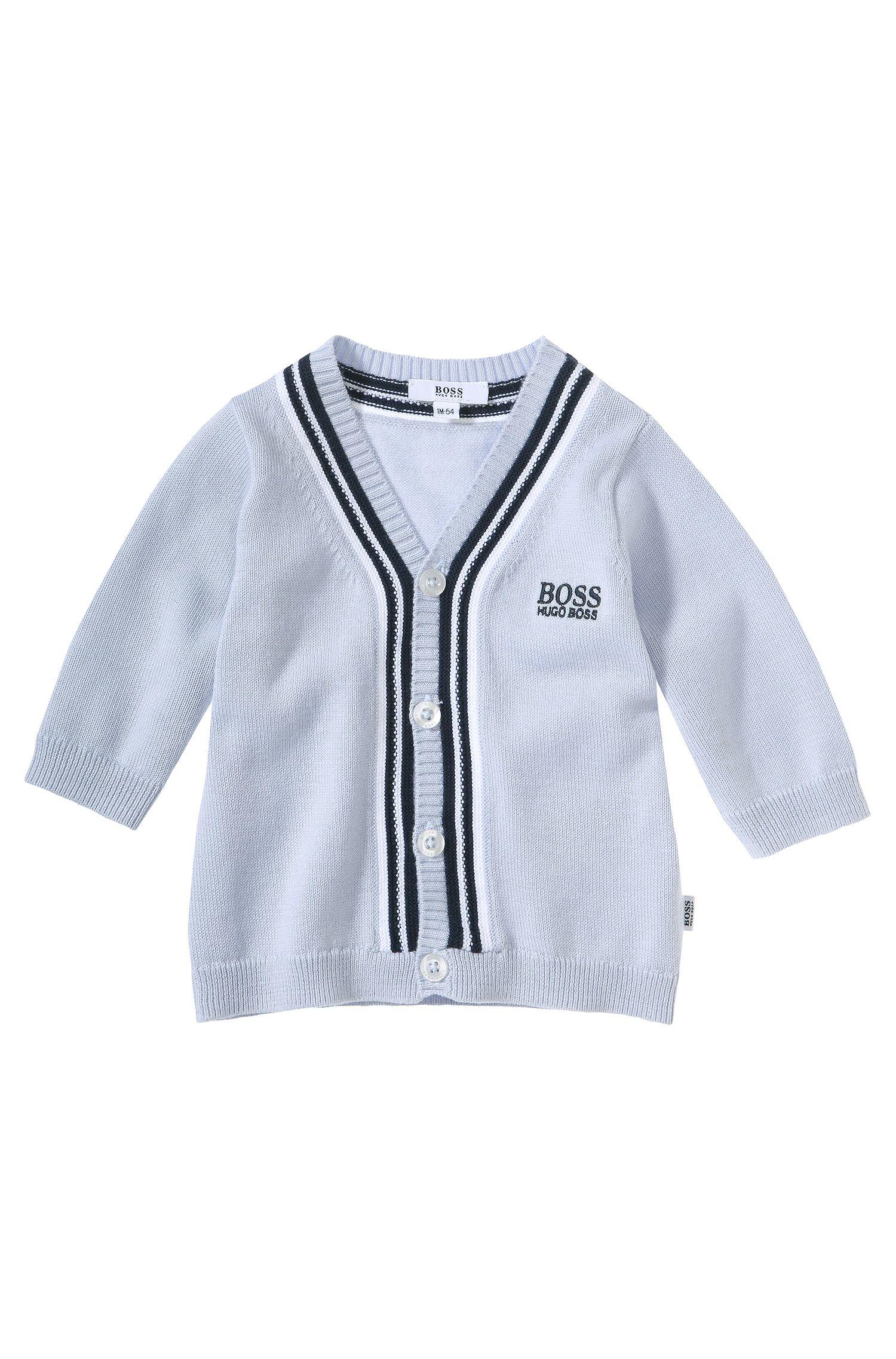 Cardigan pour enfant «J95150» en coton