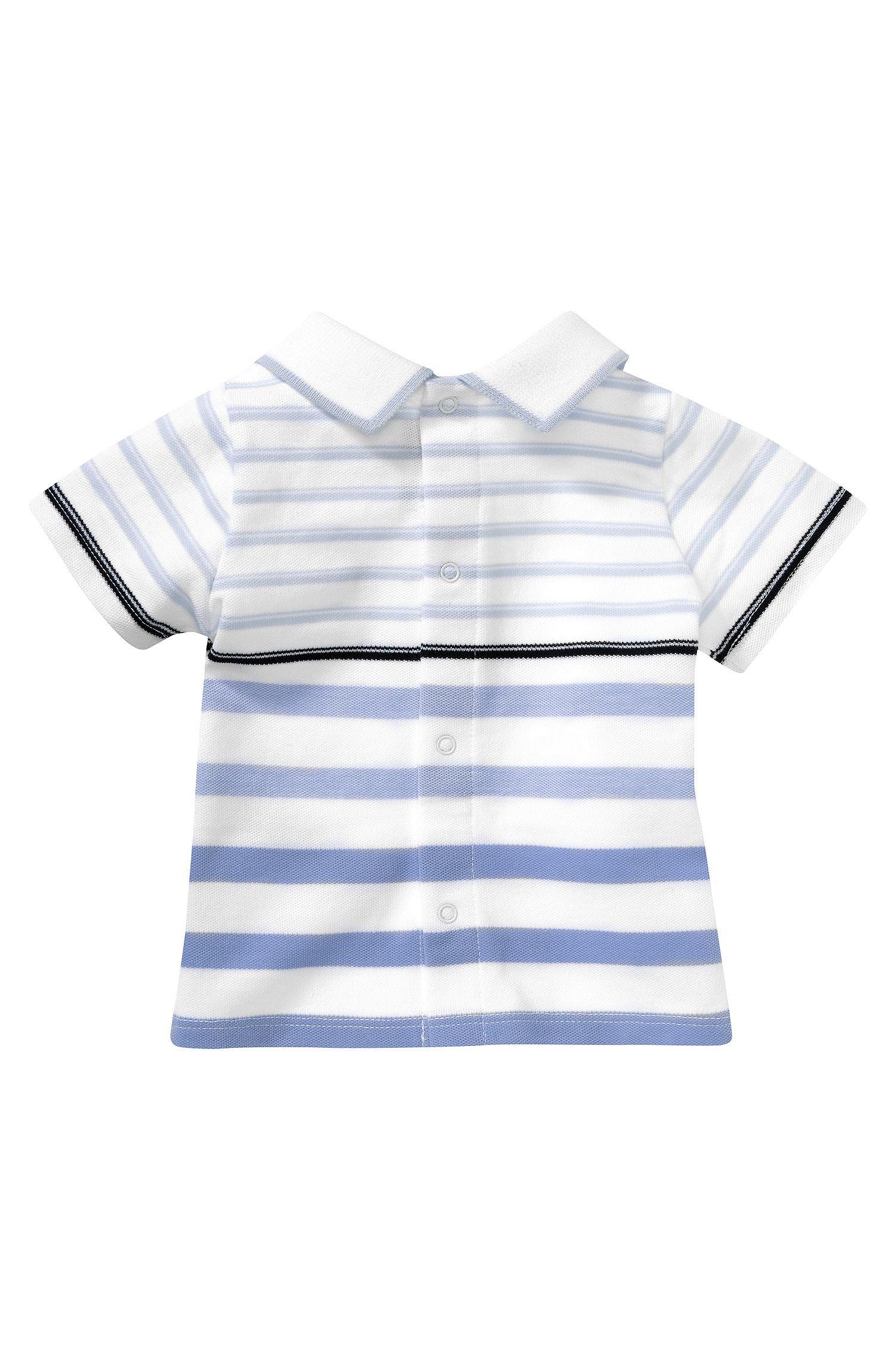 Polo pour enfant «J95151», maille piquée de coton mélangé