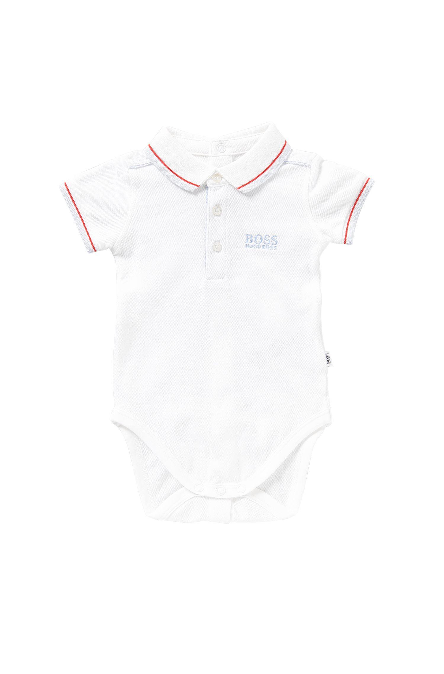 Body en algodón elástico para bebé: 'J97097'