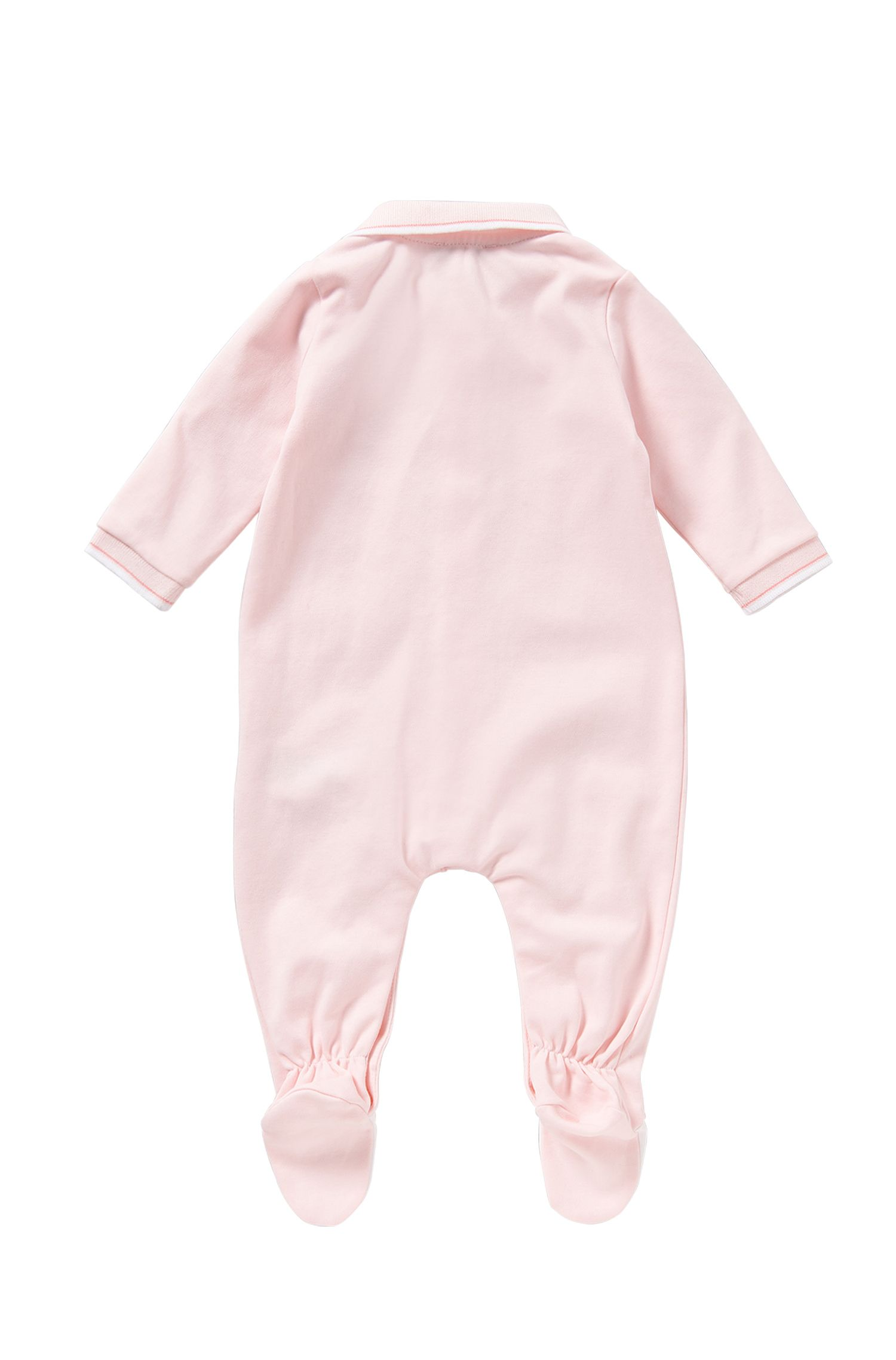 Baby-Strampler aus Baumwolle mit Polo-Kragen: 'J97101'