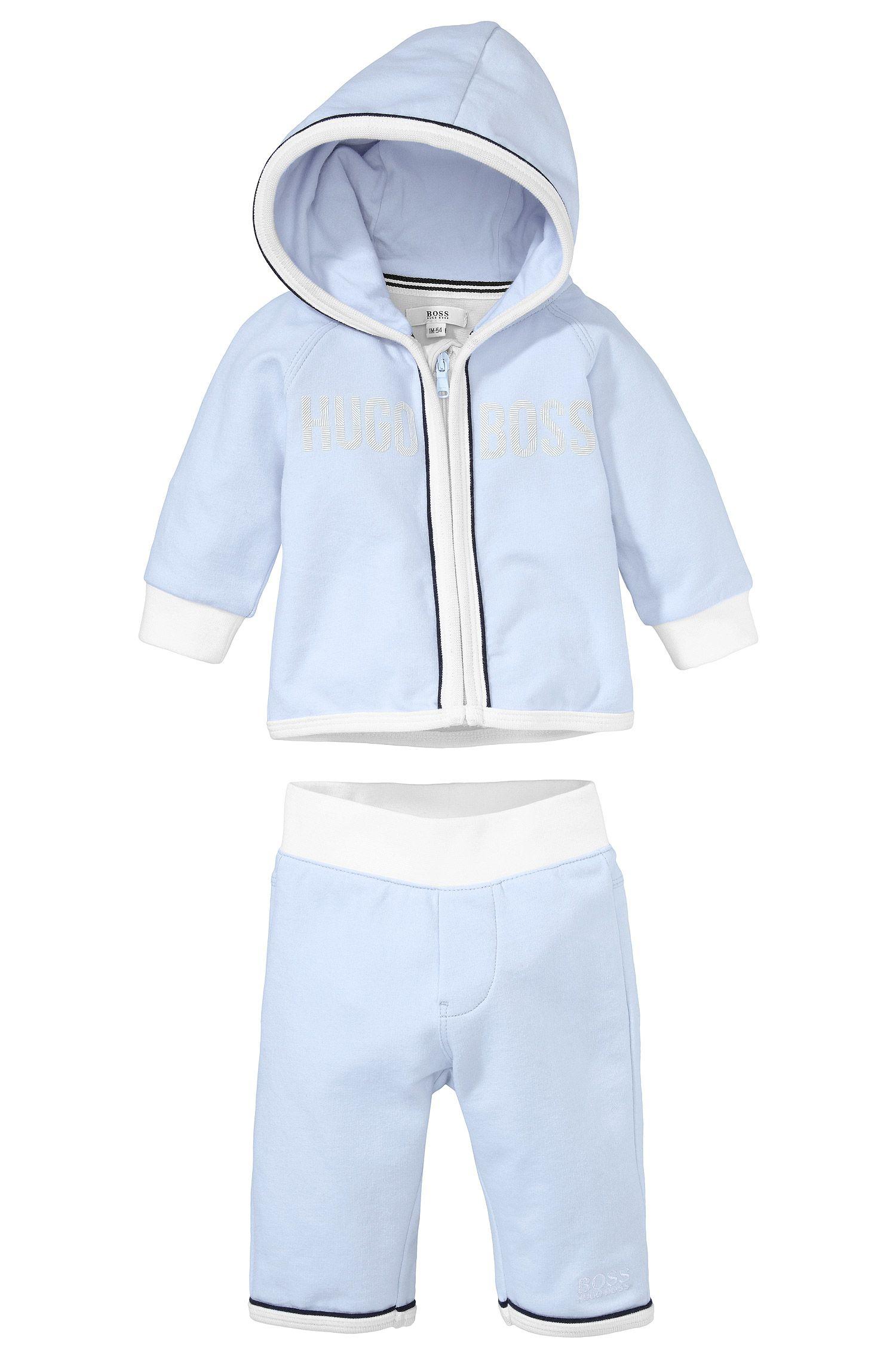 Kinderset met sweatshirtjas en joggingbroek 'J98122'
