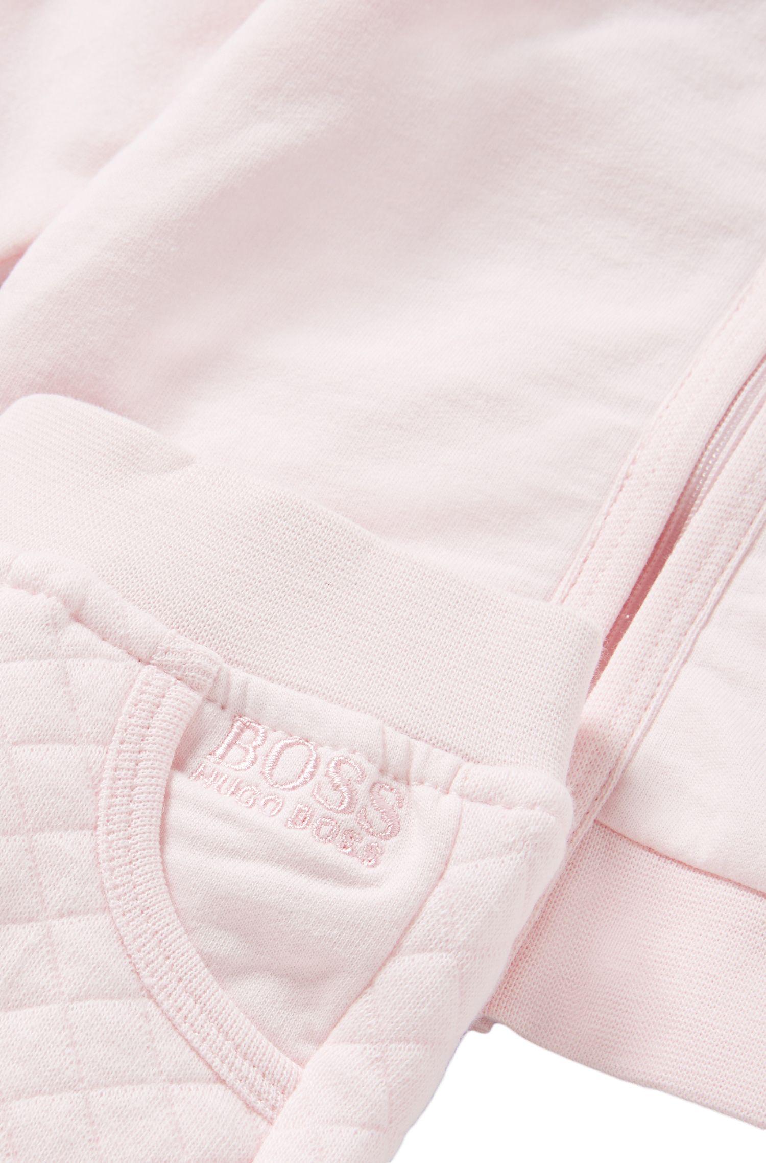Ensemble pour enfant composé d'un blouson sweat et d'un pantalon en coton: «J98134»