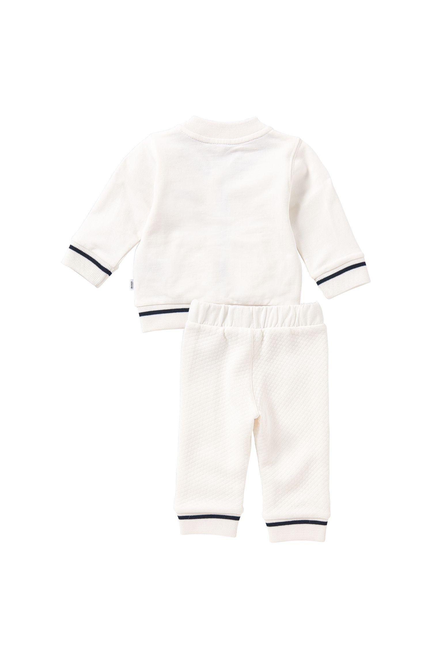 Baby-Set aus Sweatshirt-Jacke und Hose: 'J98148'