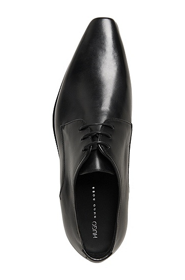 'Allyn' | Leather Derby Dress Shoes, Black