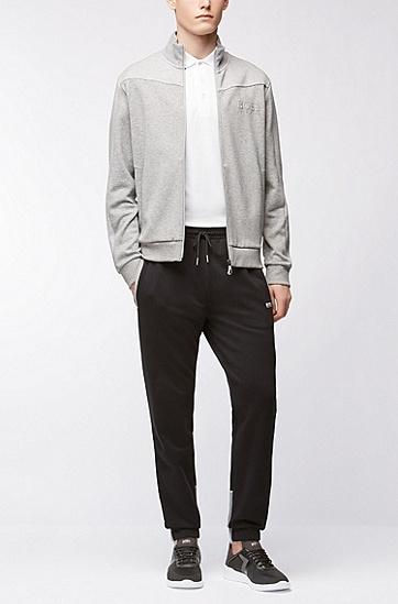 'Paddy'   Modern Fit, Cotton Polo Shirt , White