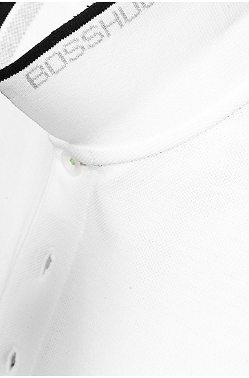 'Paddy' | Modern Fit, Cotton Polo Shirt , White