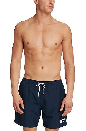 'Starfish BM'   Quick Dry Swim Trunks, Dark Blue