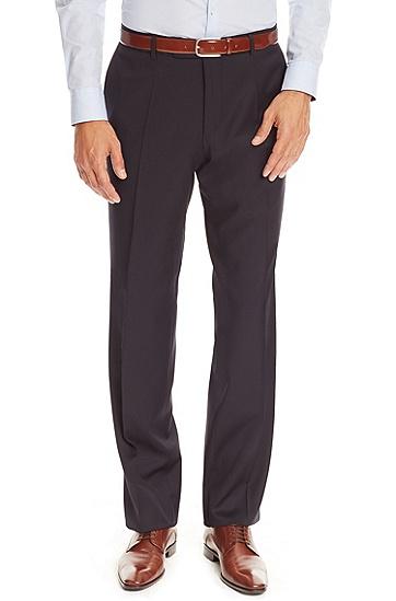 'Pasolini/Movie'   Comfort Fit, Super 100 Virgin Wool Suit, Dark Blue
