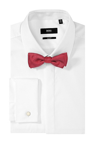 'Bow Tie Fashion' | Silk Bow Tie , Red