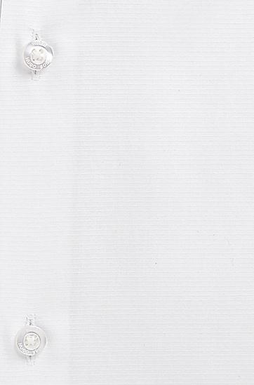 'EastonX'   Slim Fit, Modified Spread Collar Cotton Dress Shirt, Open White