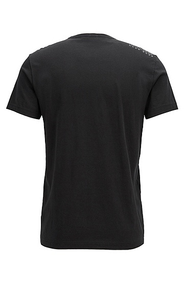 'Tee' | Cotton Jersey T-Shirt, Black