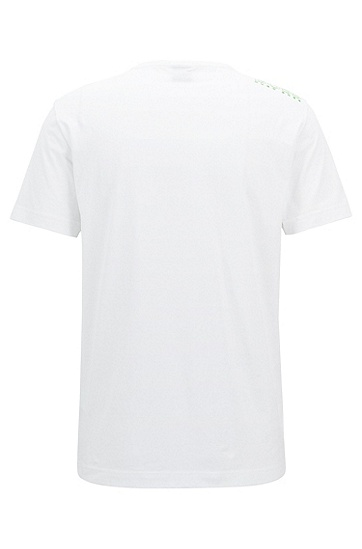 'Tee' | Cotton Jersey T-Shirt, White