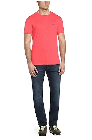 'Tee' | Cotton Jersey T-Shirt, Pink