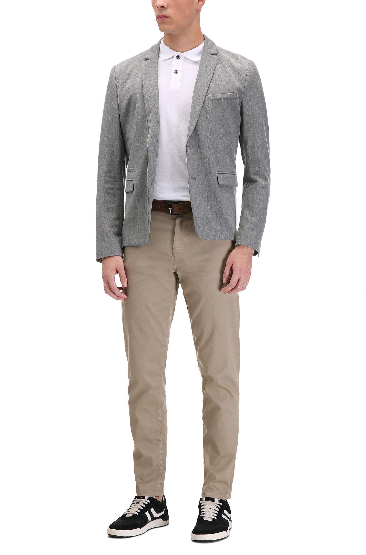 'Pascha' | Slim Fit, Cotton Polo Shirt