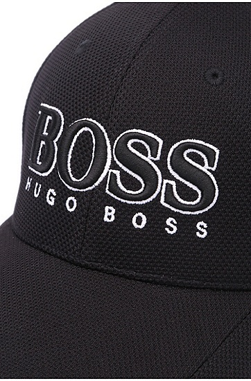 'Cap US' | 3-D Logo Performance Hat, Black