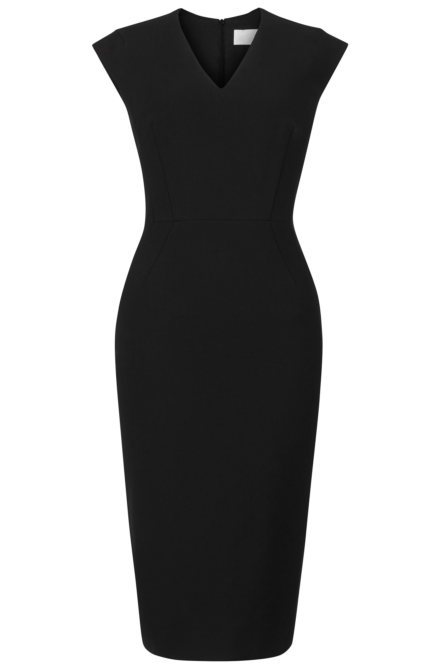'Dalana' | Stretch Cotton Blend Sheath Dress