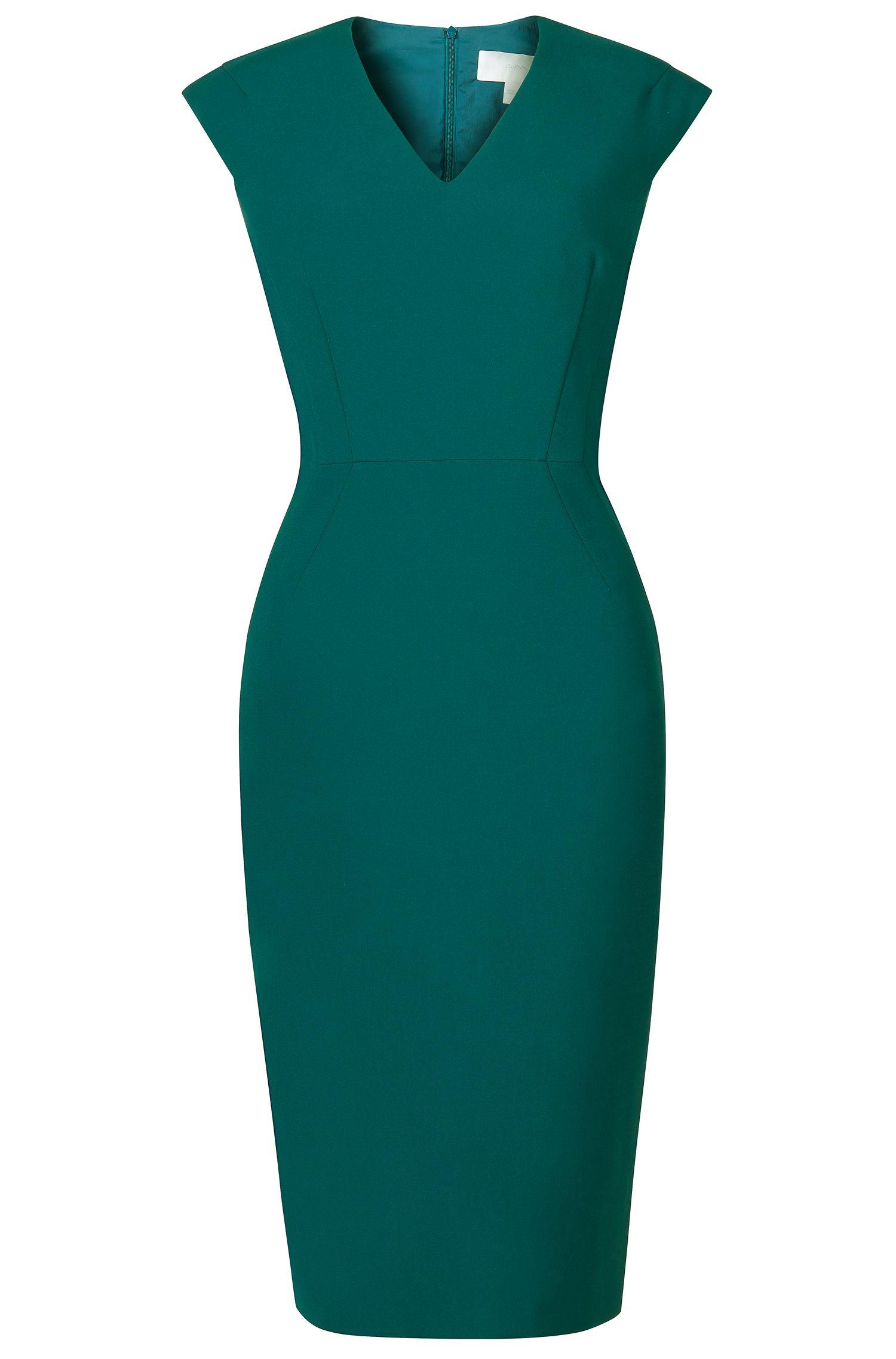 'Dalana' | Stretch Cotton Blend Sheath Dress