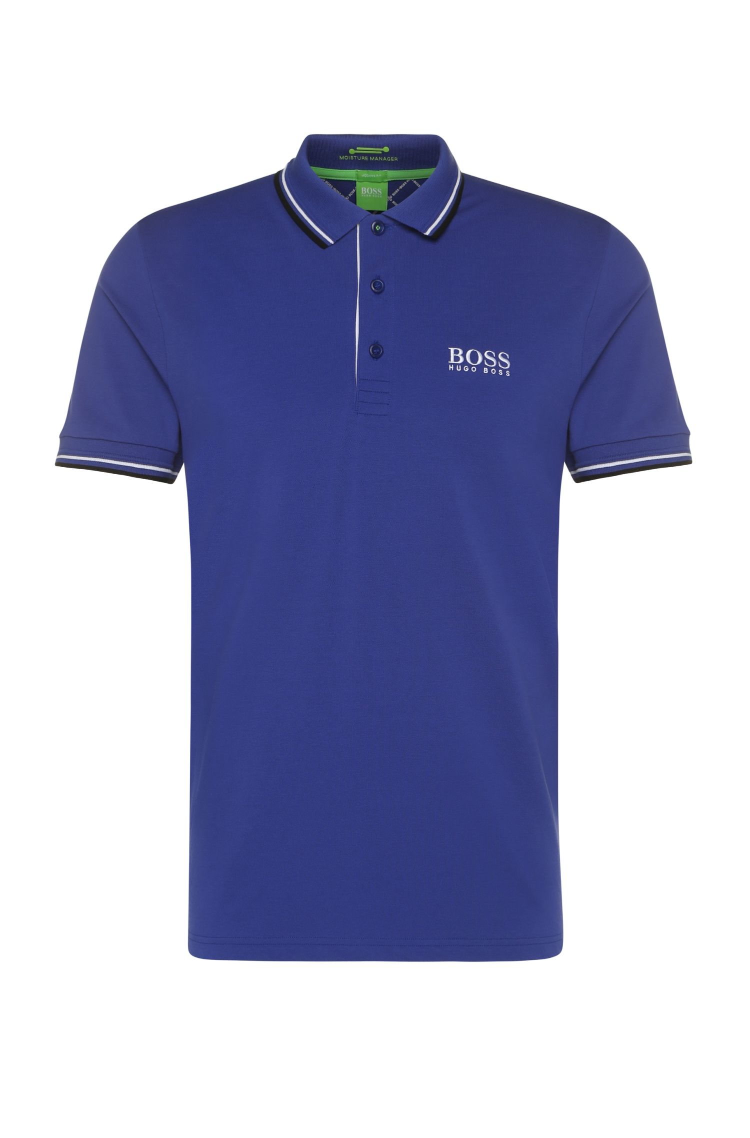 'Paddy Pro' | Modern Fit, Moisture Manager Stretch Cotton Blend Polo Shirt