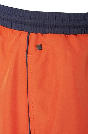 'Starfish' | Quick Dry Swim Trunks, Open Orange