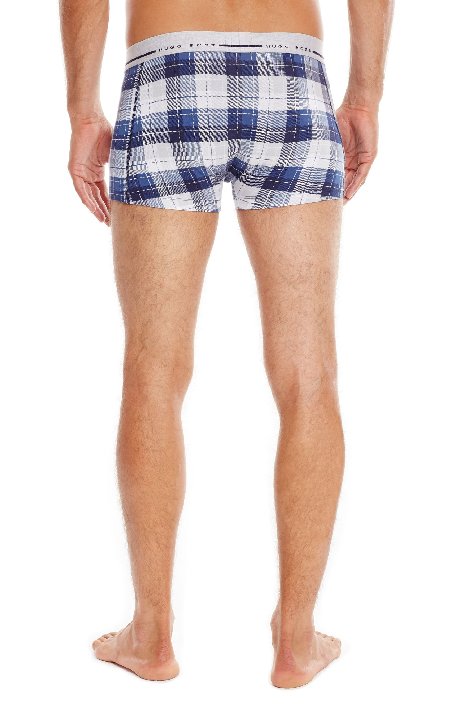 'Boxer Print' | Stretch Cotton Trunks