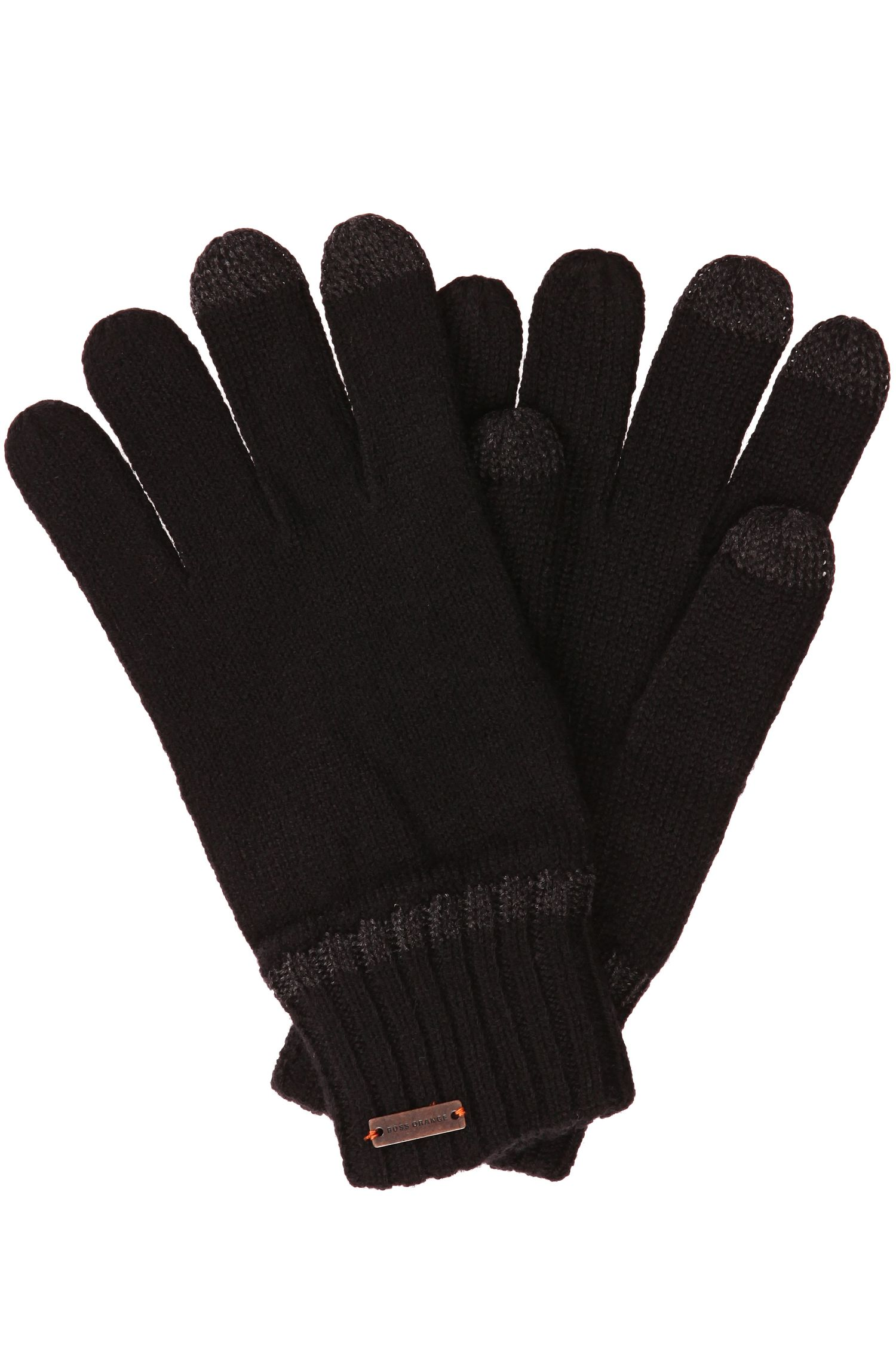 'Graas' | Wool-Blend Touch Screen Gloves