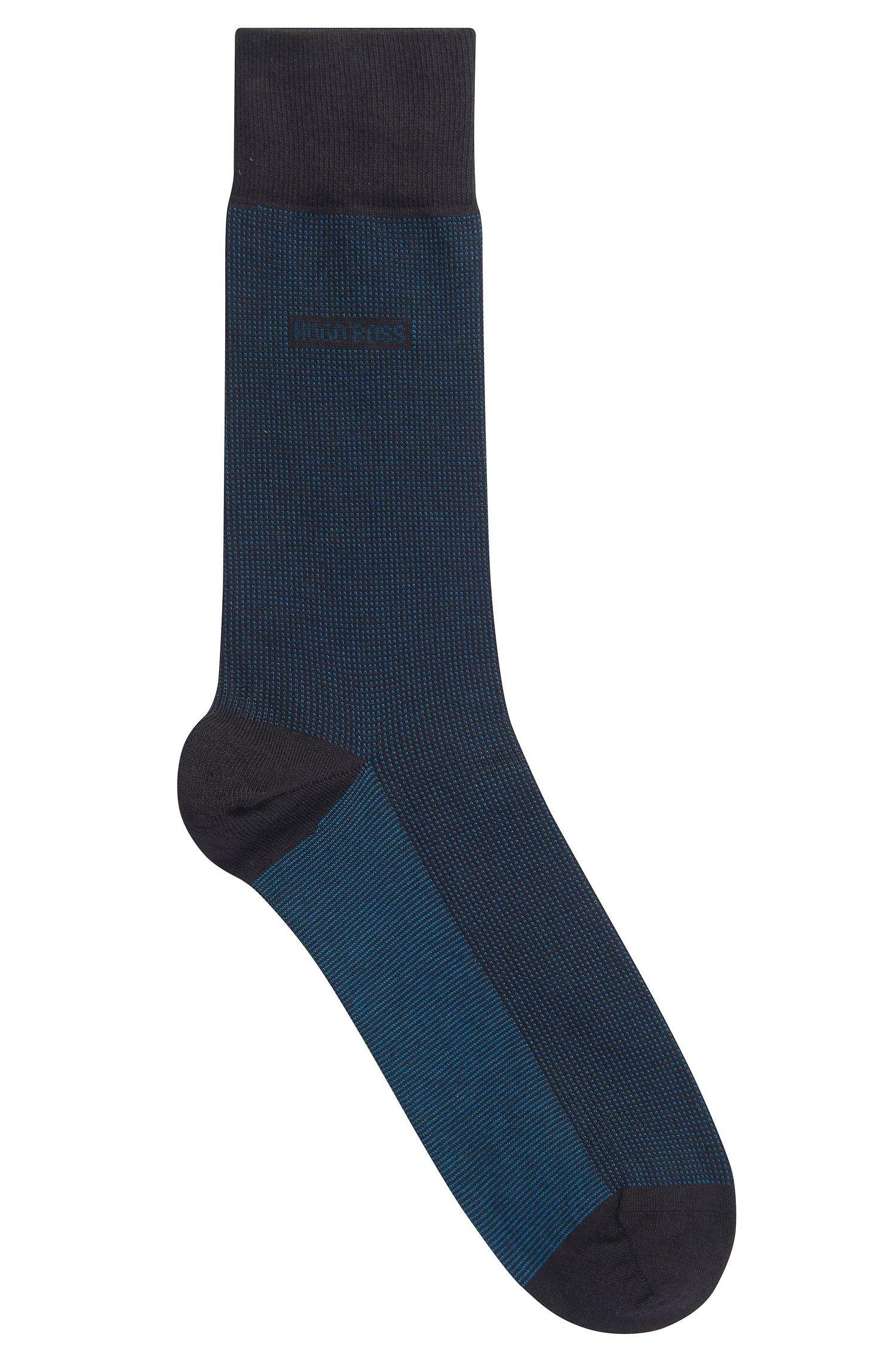 'RS Design US' | Stretch Cotton Silk Cashmere Blend Socks