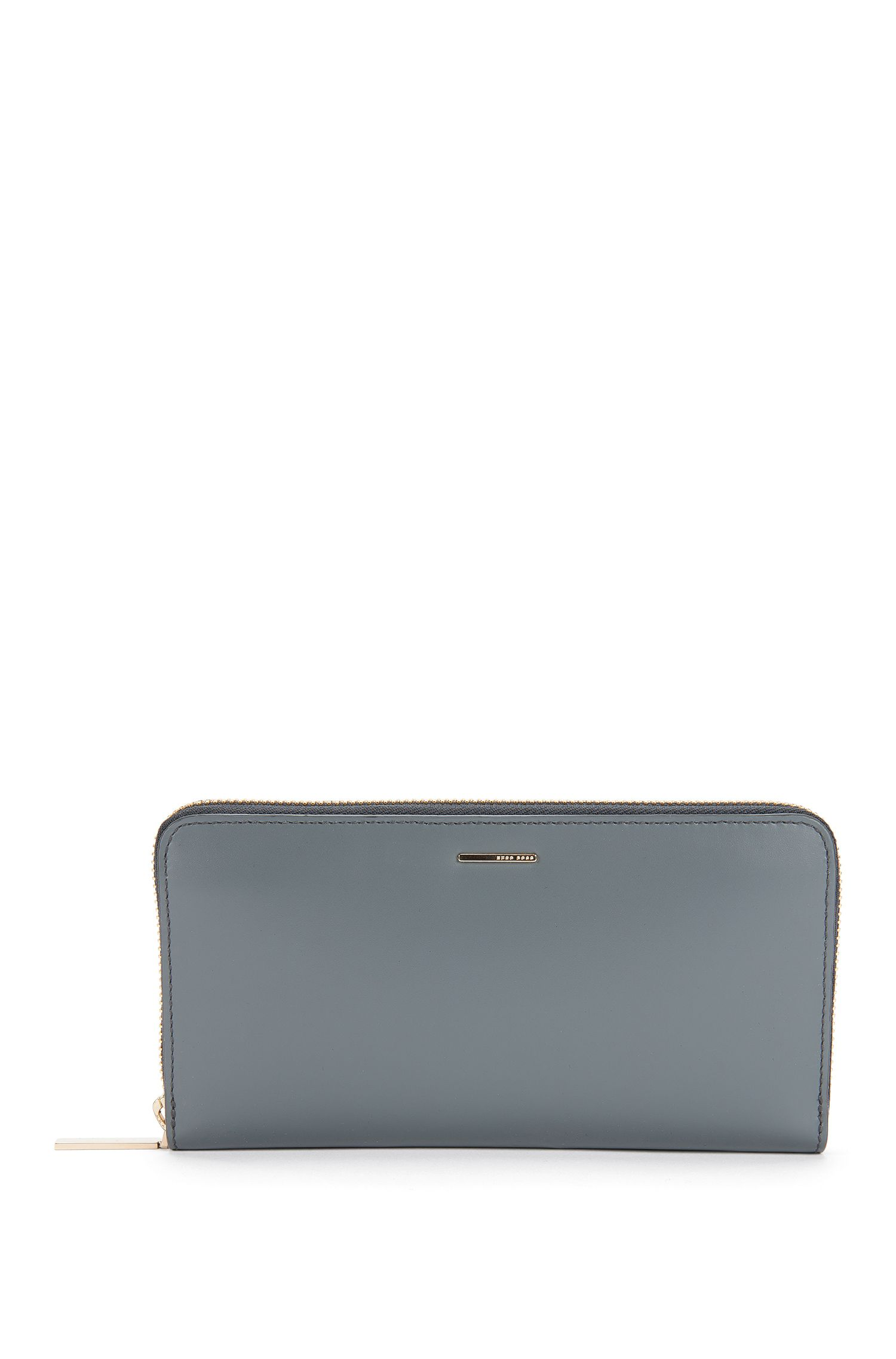 'Staple Ziparound-C' | Leather Zip Wallet