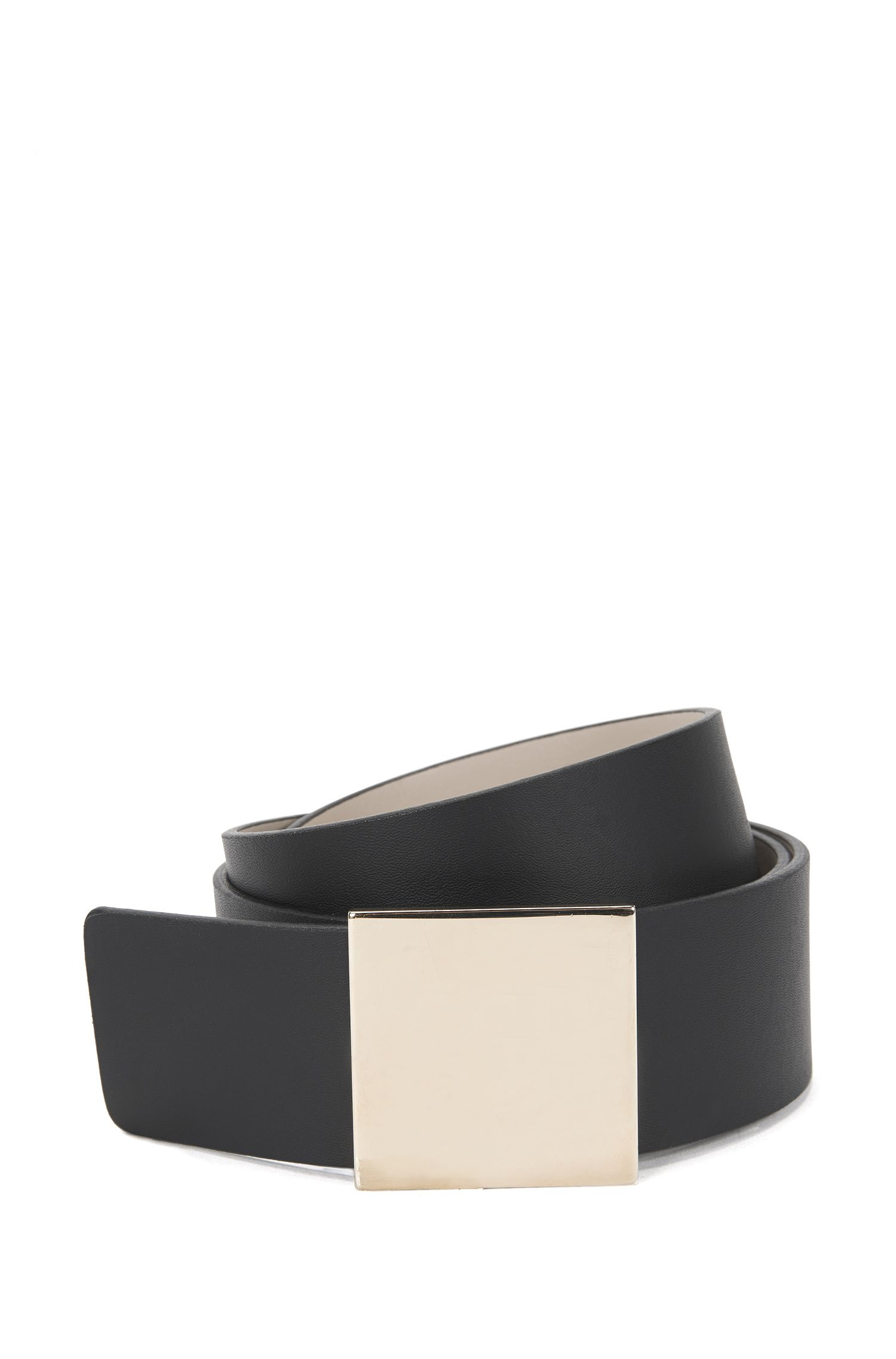 'Bria' | Italian Leather Pin Buckle Belt