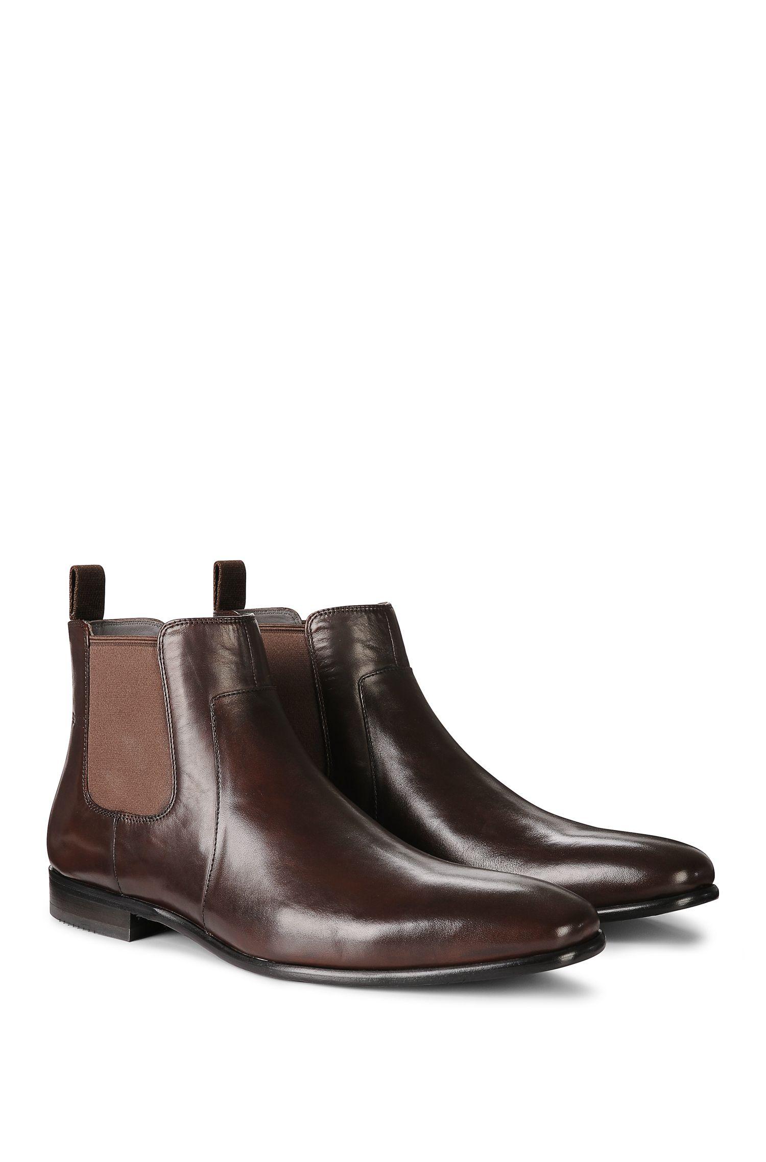 'C-Hubot' | Calfskin Chelsea Boots