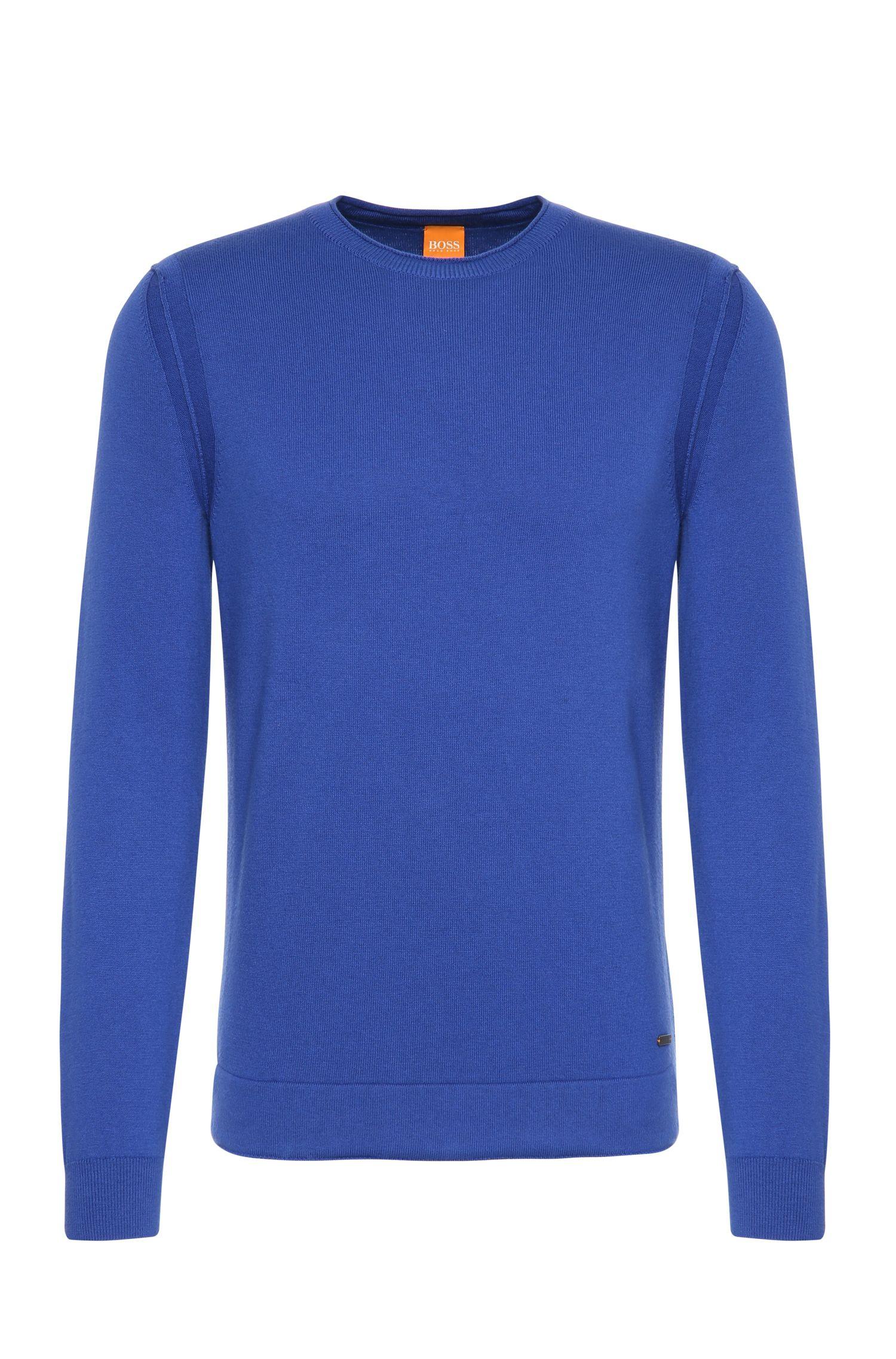 'Albion' | Virgin Wool Cotton Blend Sweater
