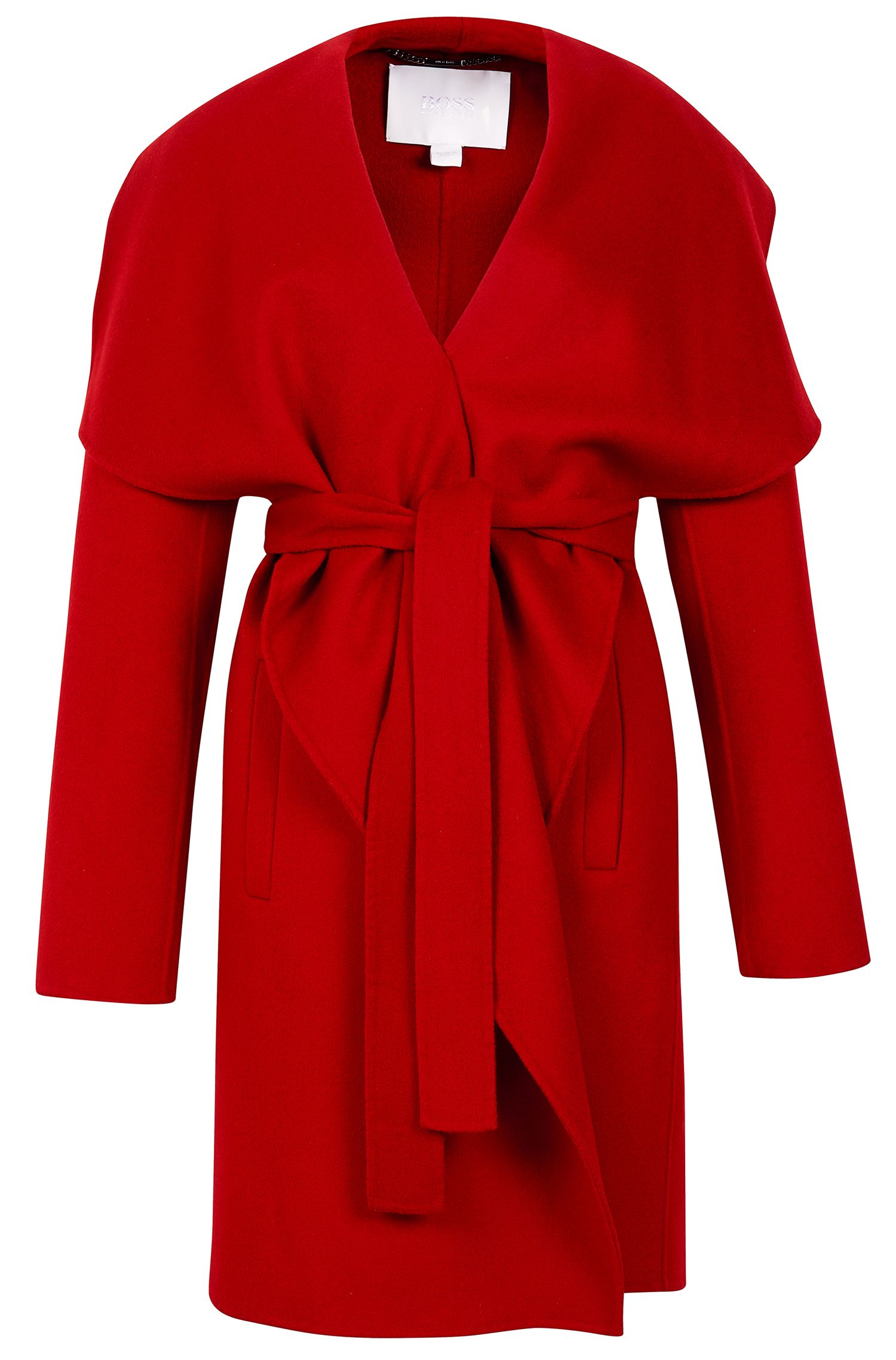 'Catifa' | Wool Cashmere Shawl Collar Coat