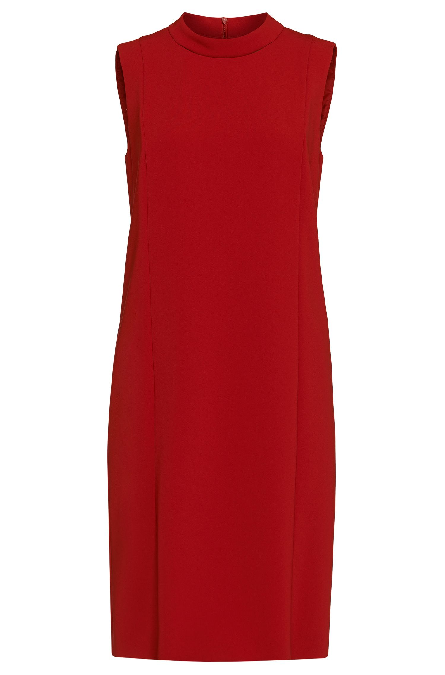 'Daneyo' | Crepe Cut-Out Shift Dress
