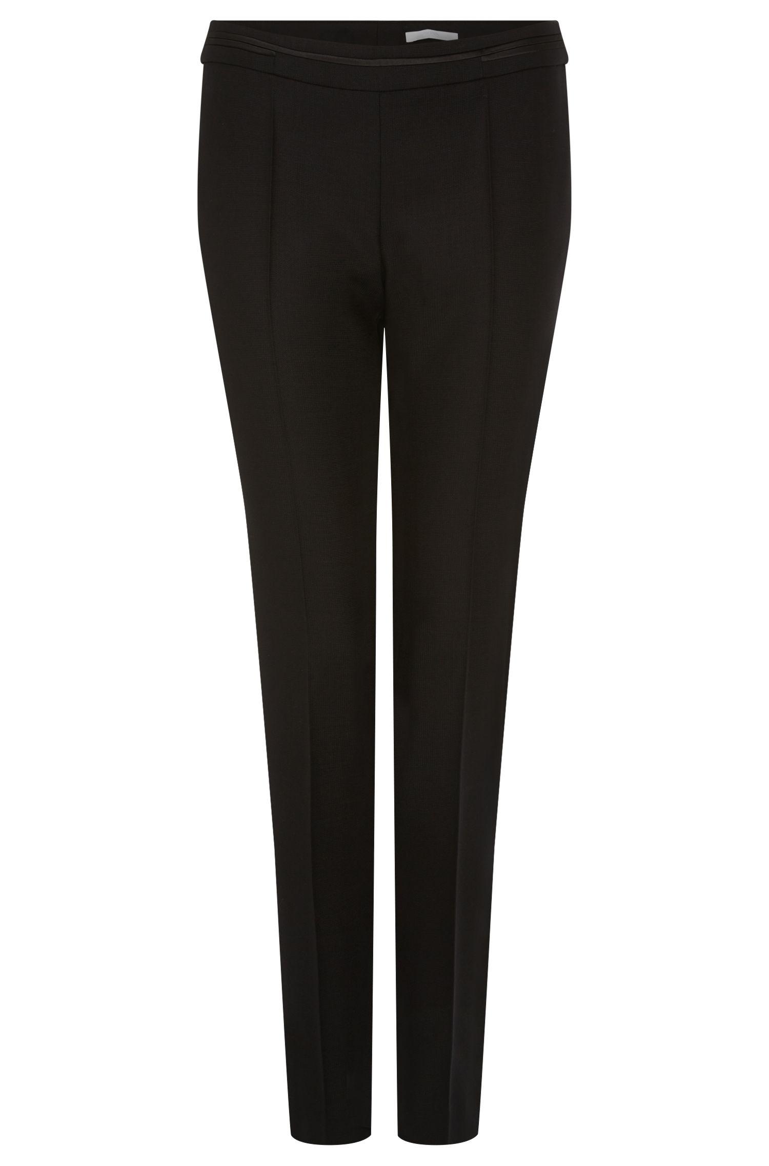 'Tikana'   Virgin Wool Tuxedo Pants