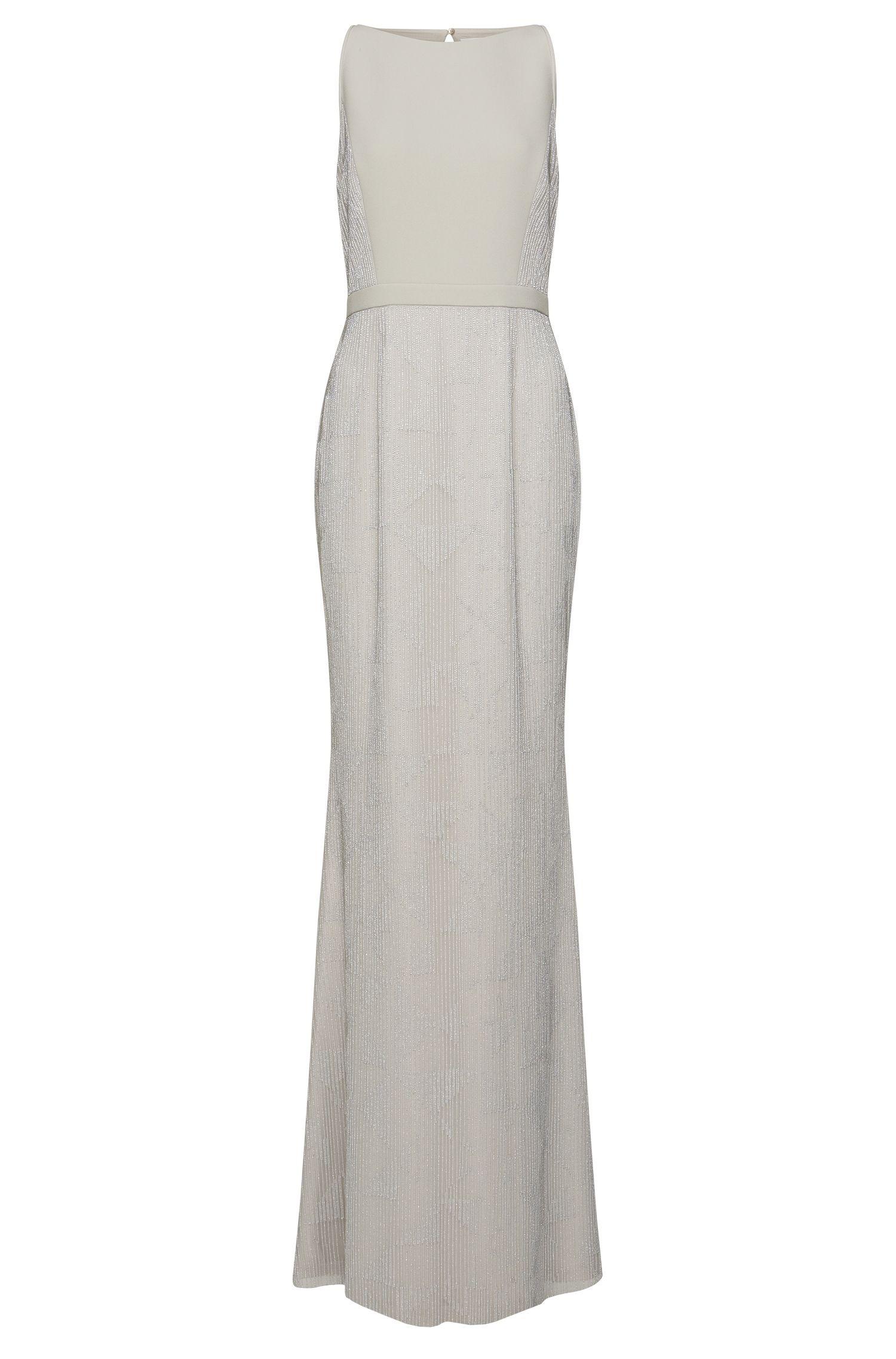 'Dovenala' | Silk Hand-Beaded Gown