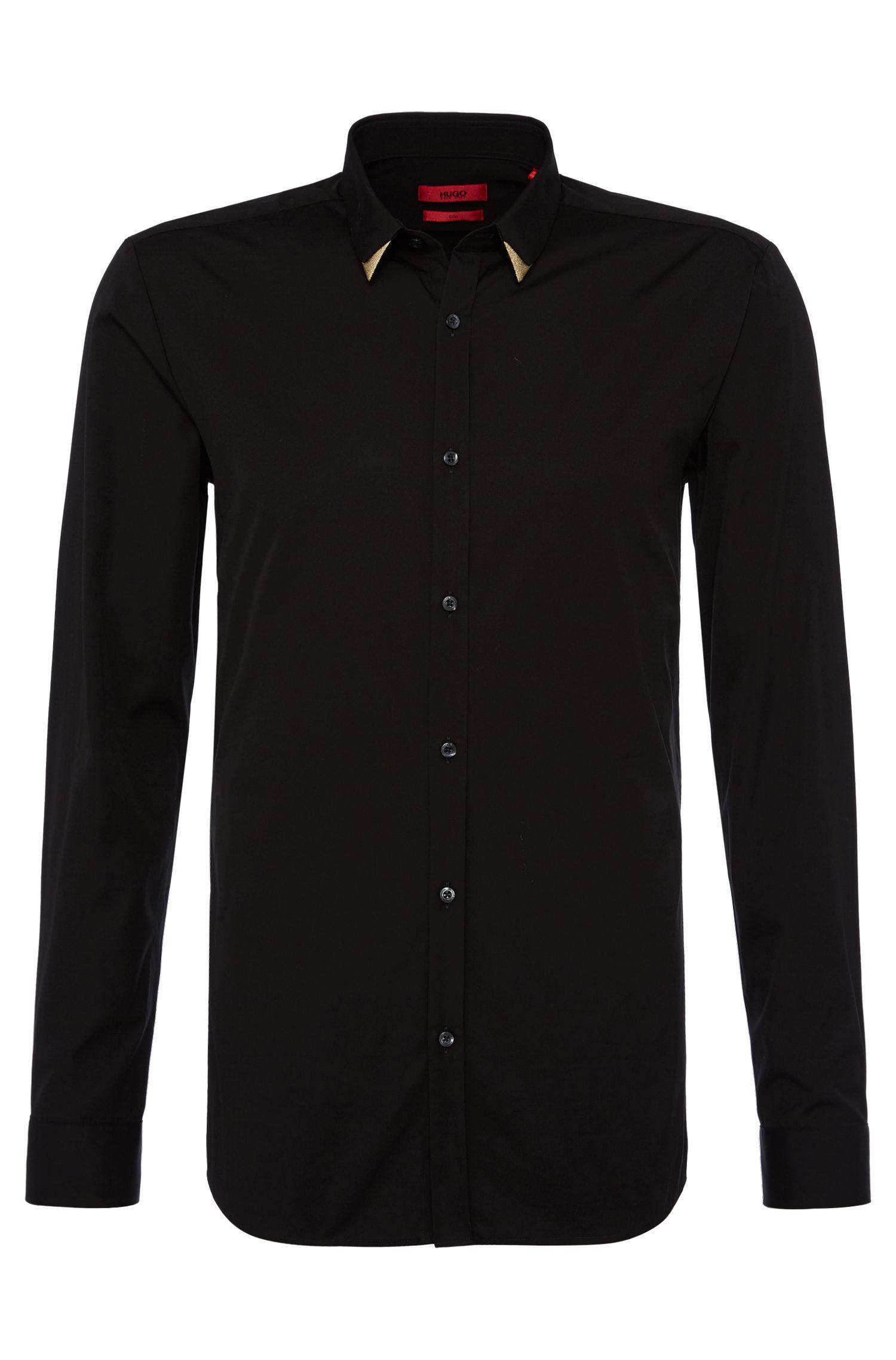 'Erulf'   Slim Fit, Cotton Tipped Collar Button Down Shirt