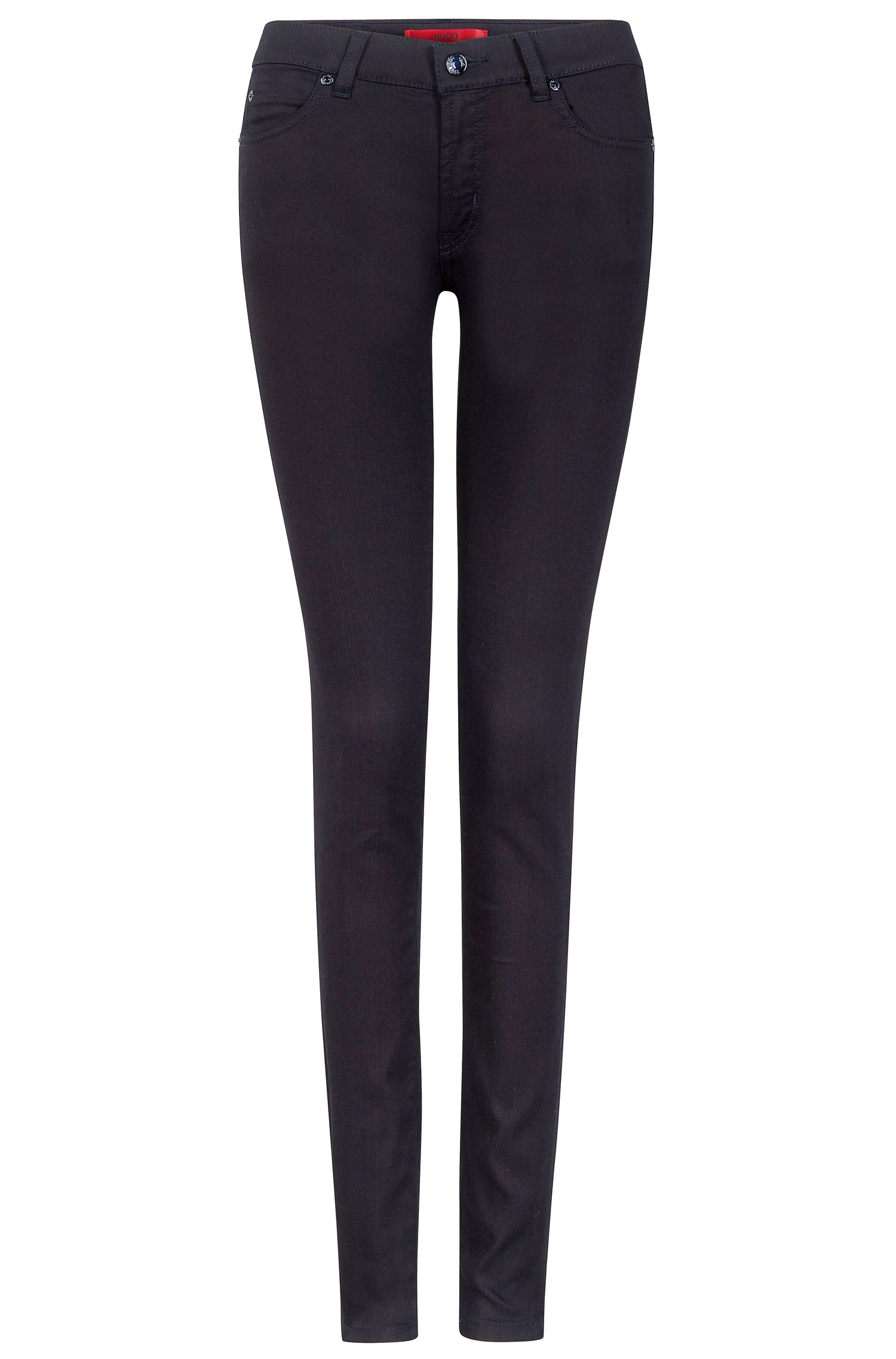 'Ginja' | Skinny Stretch Cotton Jeans