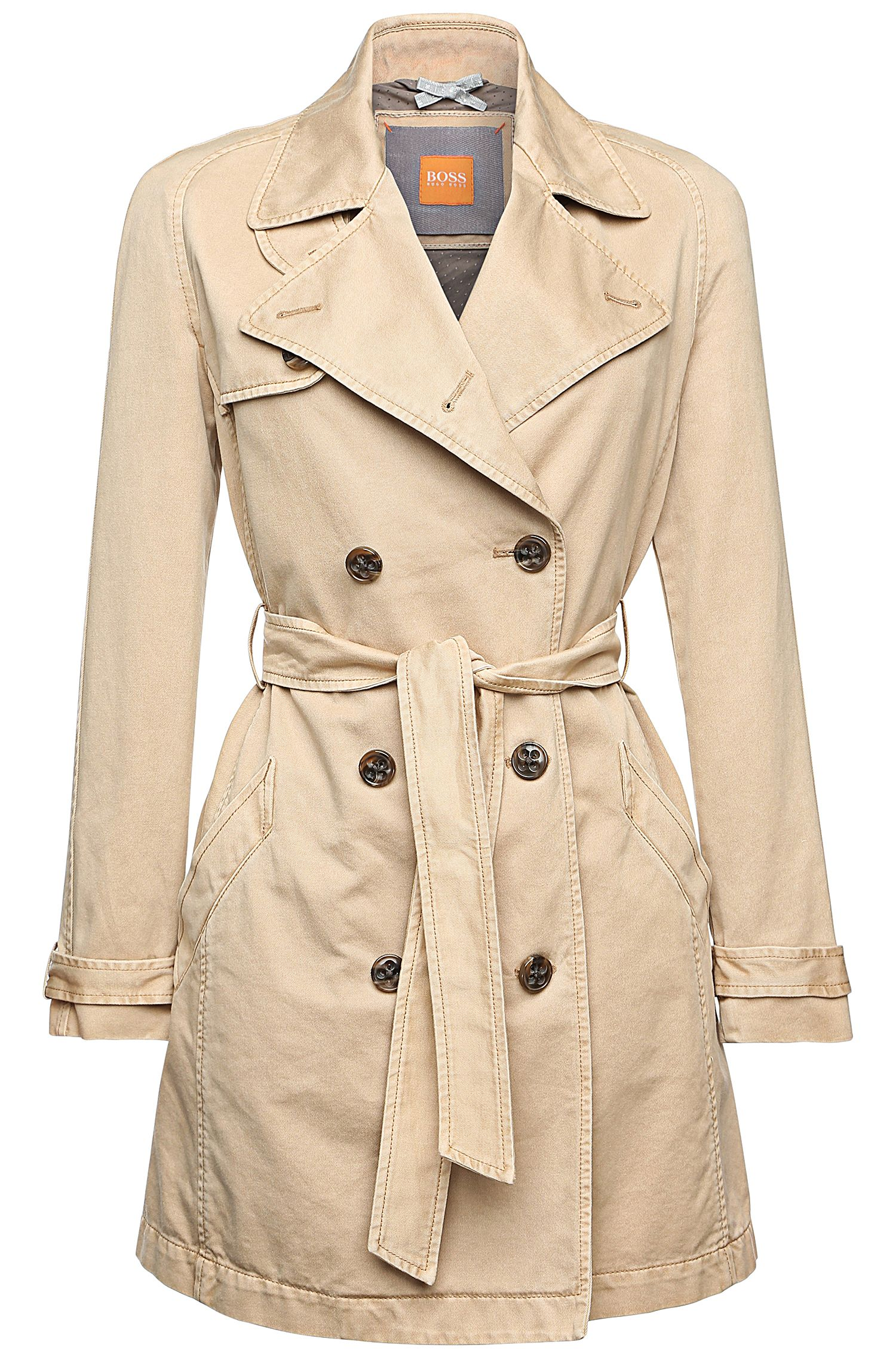 'Otrenchy-D' | Cotton Trench Coat