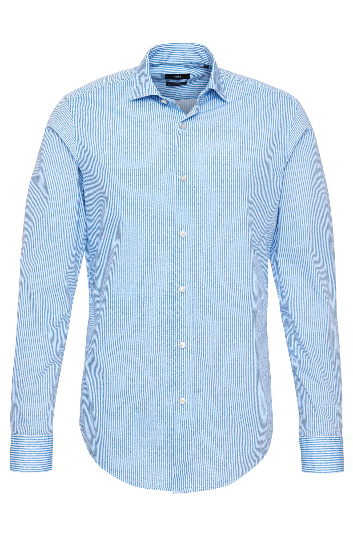 'Ridley' | Slim Fit, Cotton Button Down Shirt