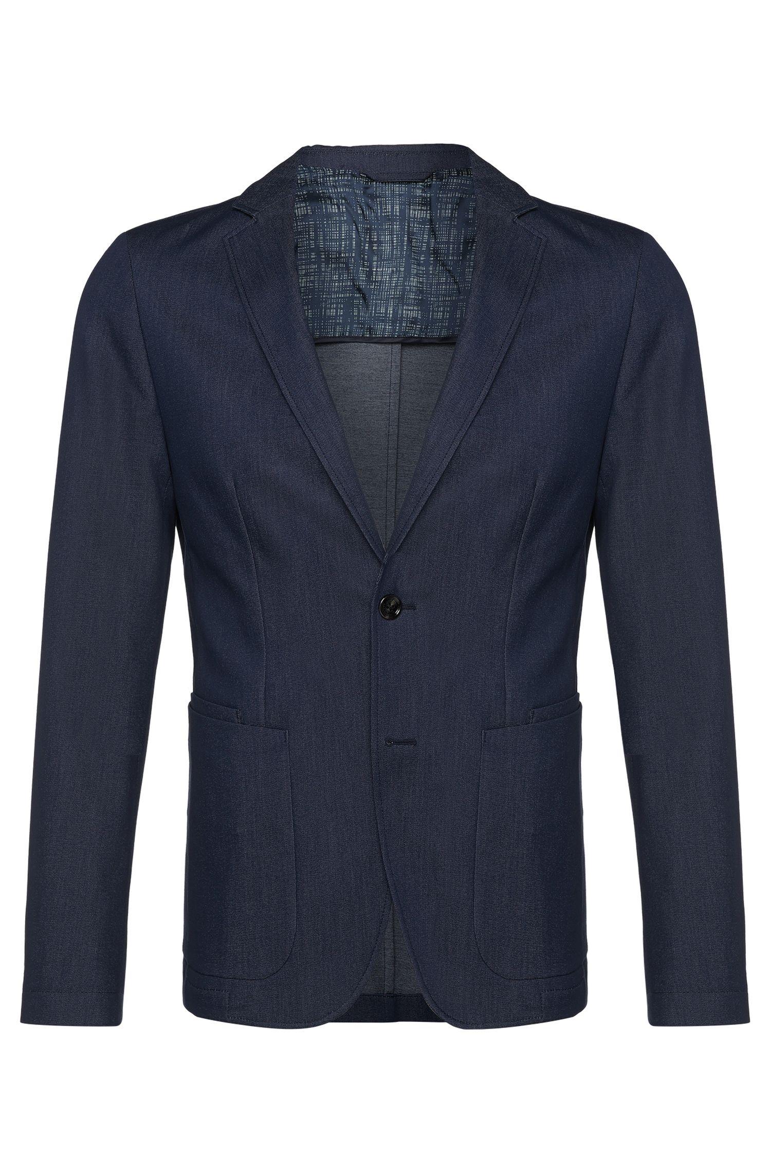 'Mourize' | Extra Slim Fit, Stretch Cotton Denim Sport Coat